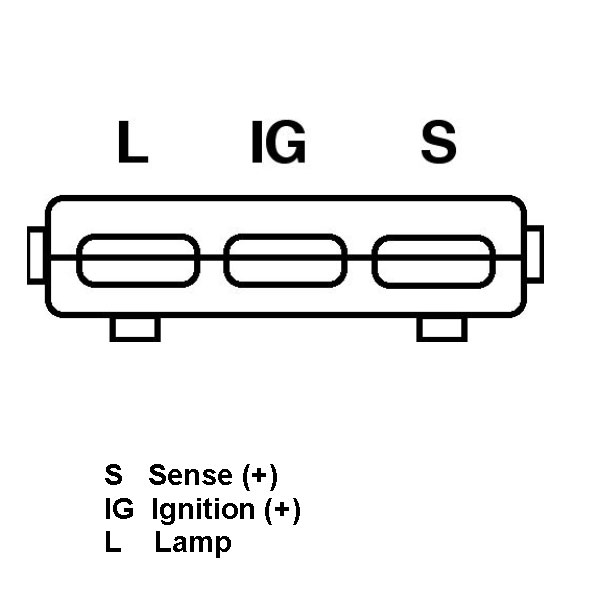 Toyota Land Cruiser 80 Alternator 45l A2157rhstartermotoralternatorstorecouk: Toyota Land Cruiser Alternator Wiring Diagram At Gmaili.net